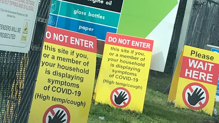 Waste site bookings no longer required from Monday