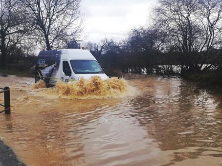 Heavy rain increases flood risk across Melton Borough