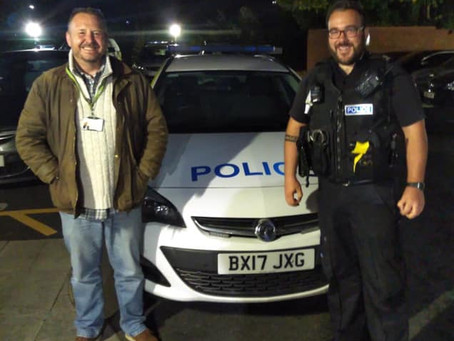 Police test out under age alcohol purchases