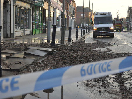Major Melton Road Closed Due To Burst Water Pipe