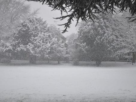 Heavy Snow Falls Across Melton Borough