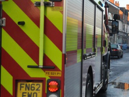 Firefighters tackle Melton industrial fire