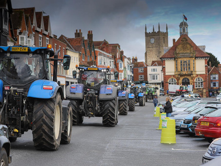 British Farmers to host tractor demo in Melton Mowbray