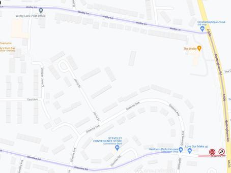Nottingham Road resurfacing closures planned