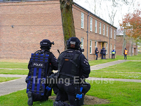 Emergency Services Carry Out Live Training Exercise