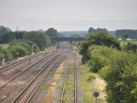 Train delays after person hit by train