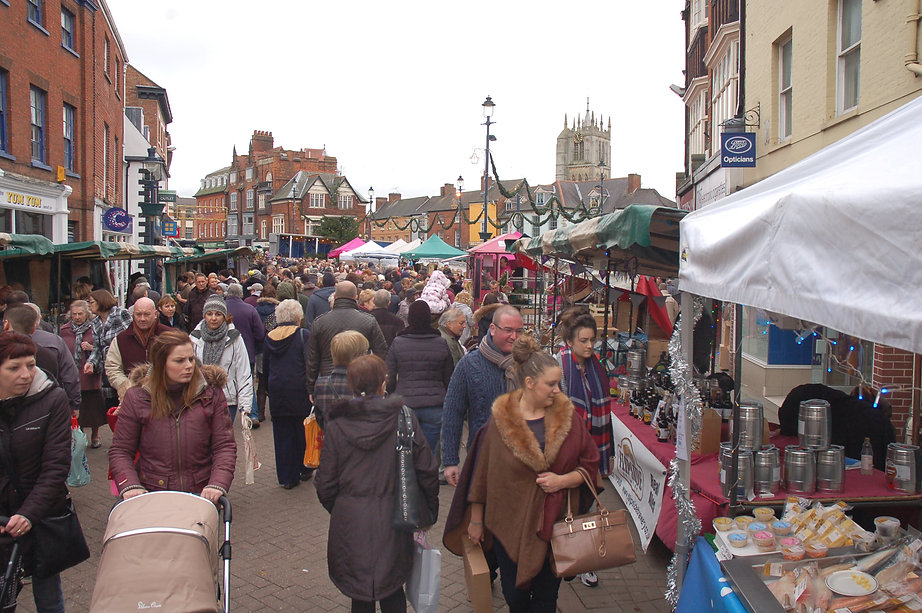 Melton Mowbray market shopping 2.JPG