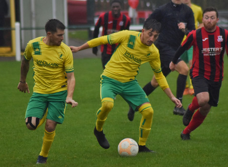 SPORT: Holwell Sports thrash Raunds Town in 7 goal thriller