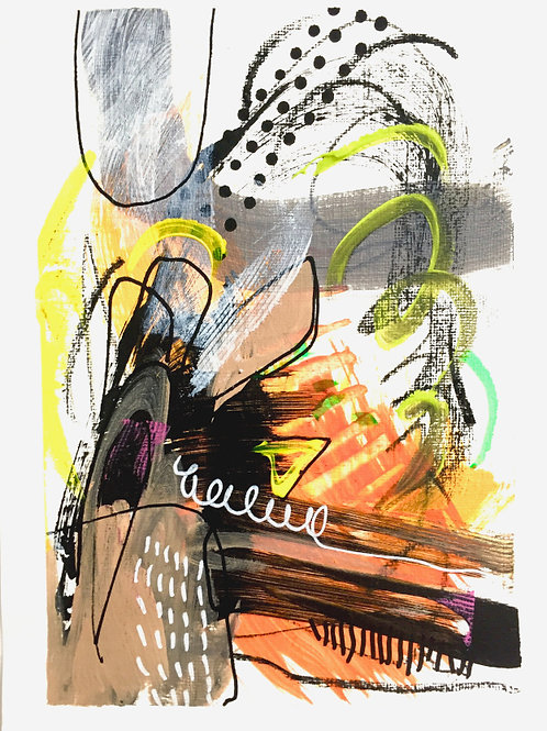 Intuitive Artwork on Paper