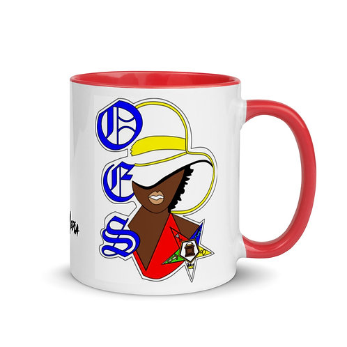 Order of the Eastern Star Mug with Color Inside