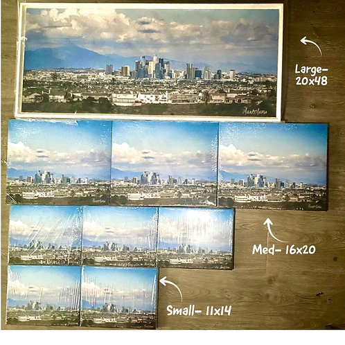 Los Angeles Skyline CANVAS