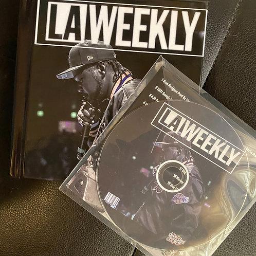 LA Weekly Mixtape and QR Code Visual Book