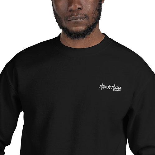 Unisex Embroidery Logo Sweatshirt