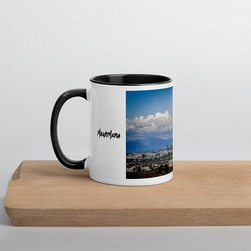 Los Angeles Skyline Mug with Black Pearl Inside