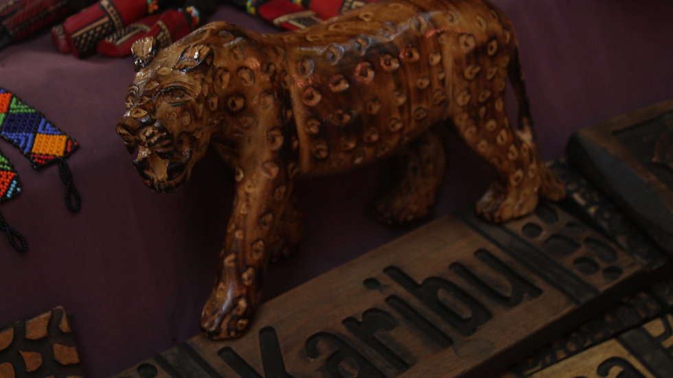 Handcarved Wooden African Curio