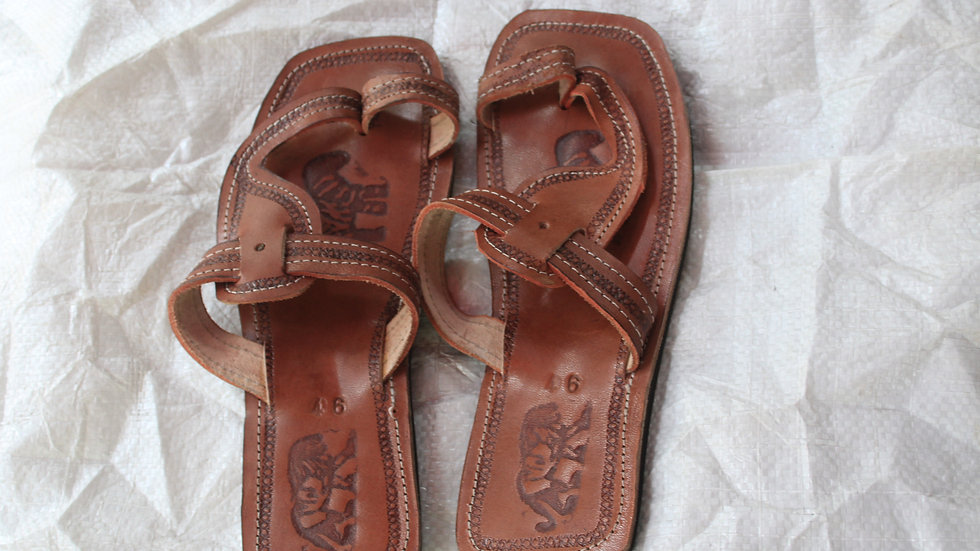 African Male Sandal