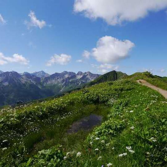 徒步菲尔峰