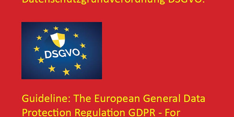 欧盟数据保护法 (在线讲座)