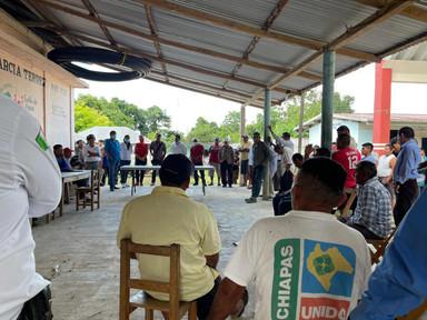 Registró Agrario Nacional beneficia a ejidatarios de Salto de Agua.