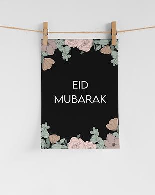 free printable eid decor floral