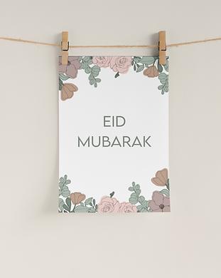 free printable eid mubarak decor