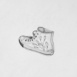 shoe boot illustration