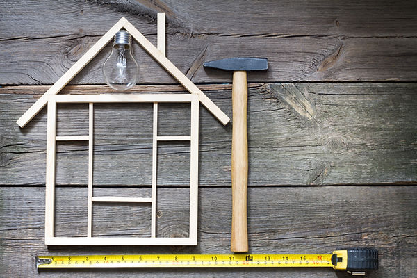 Home renovation construction abstract ba