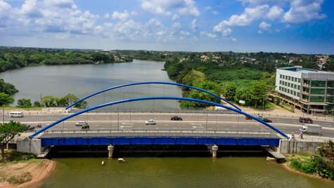 Structural Steel (Pulduwa Bridge, Sri Lanka)