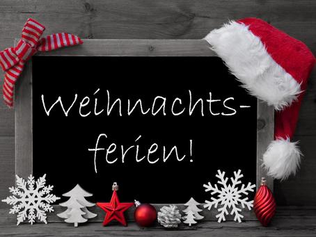 Vorgezogene Weihnachtsferien auch im Kinderhort Löwenried