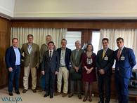 Vallya reúne-se com a TAP Air Portugal,  para negociar a exportação de ouro a partir de Brasília.