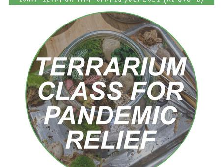 18 July 21: CTF1 Closed Terrarium Fundamentals For Beginners
