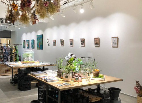 Gallery space @ Shrubbery