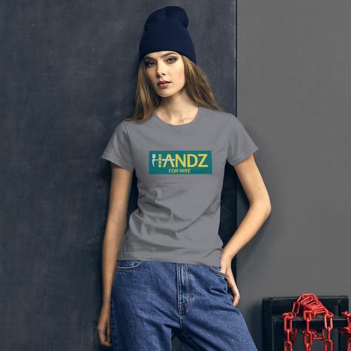 Handz for Hire Full Logo Women's T-shirt