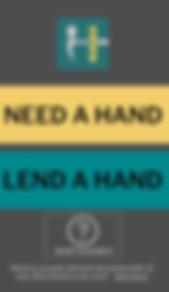 Handz For Hire Landing Screen