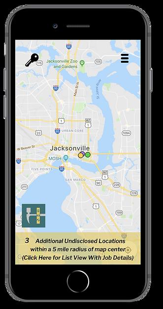 Handz iOS Map Screenshot