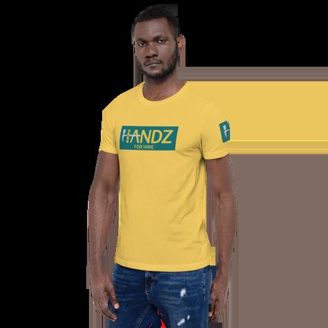 Handz for Hire Full Logo Men's T-Shirt
