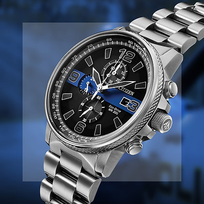 Citizen Watch - Men's Thin Blue Line