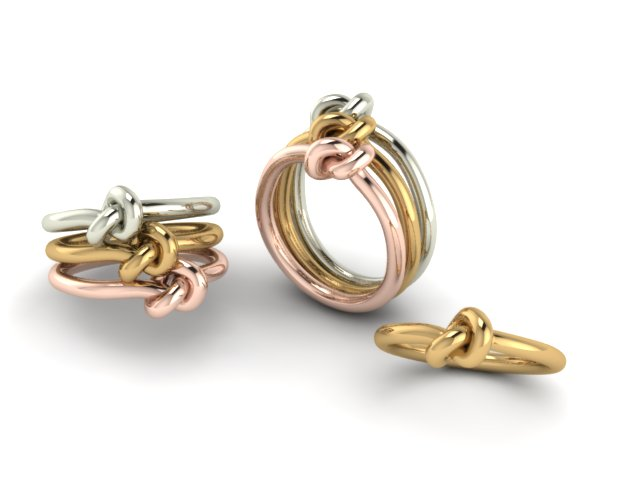 Knot ring Stackable