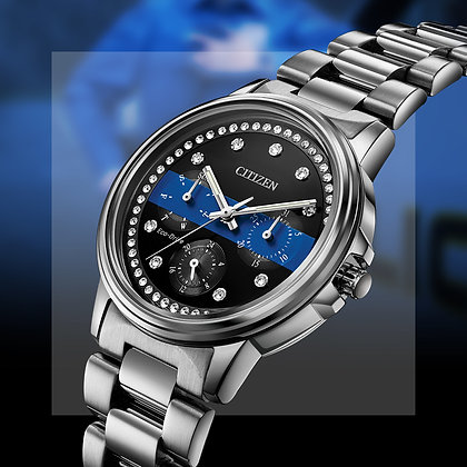 Citizen Watch - Ladies Thin Blue Line