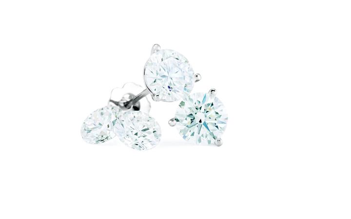 Diamond Ear Studs