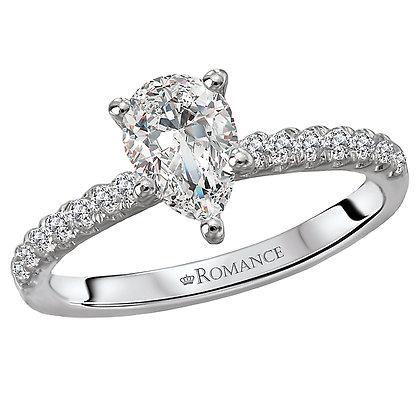 Classic Diamond Ring, Pear Shape