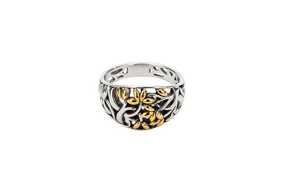 Tree of Life Ring (Tapered)