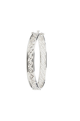 Window to The Soul Hinged Bangle