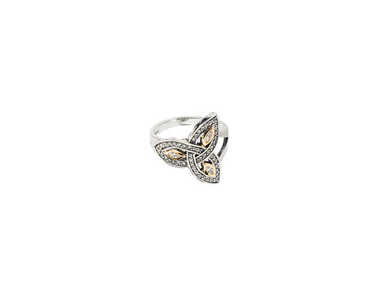 Trinity CZ Ring (Tapered)