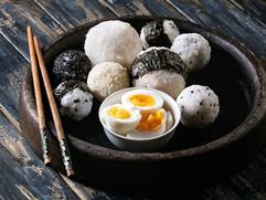 Risbollar och ägg