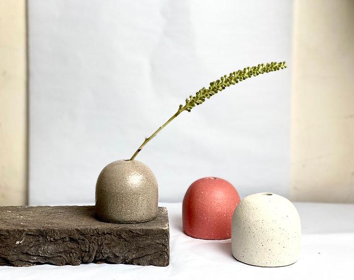 Dome Mini Vase - Grey