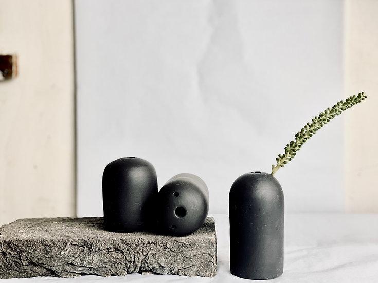 Dome Mini Vase - Black