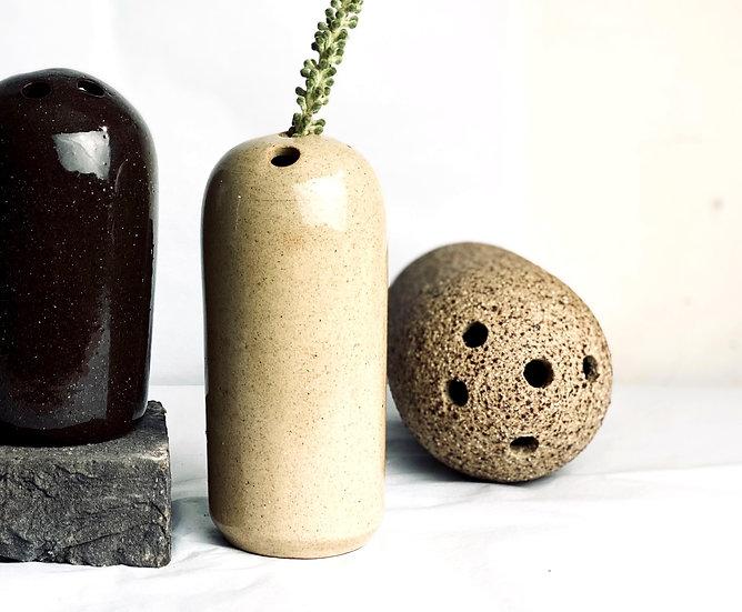 Tall Dome Vase - Stone Blush