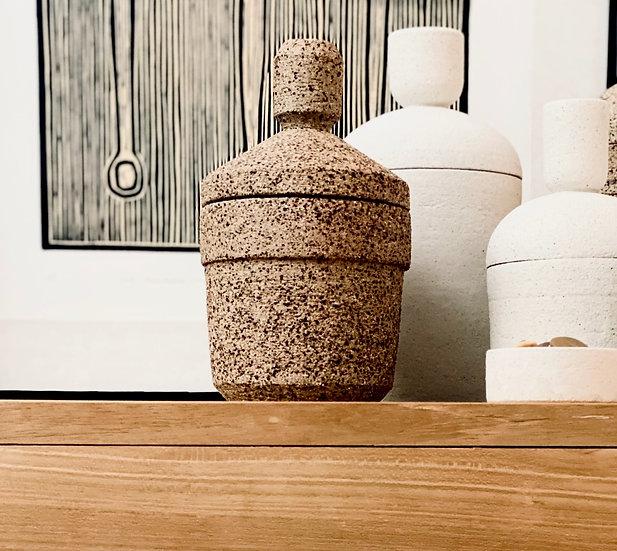 A Lidded Storage Jar
