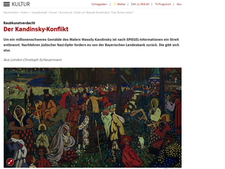 The Kandinsky Conflict